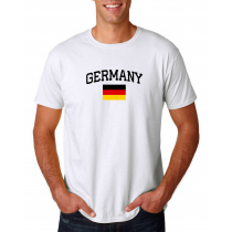 Men's Round Neck  T Shirt Jersey  Country Germany