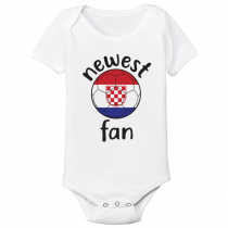 Baby Bodysuit Country pride Croatia