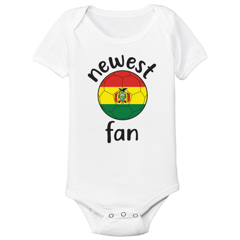 Baby Bodysuit Country pride  Bolivia