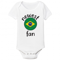 Baby Bodysuit Country pride  Brasil