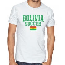 Men's Round Neck Tee T Shirt  Soccer Bolivia