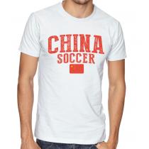 Men's Round Neck Tee T Shirt  Soccer  China