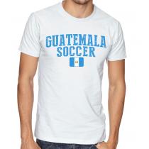 Men's Round Neck Tee T Shirt  Soccer  Guatemala