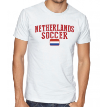 Men's Round Neck Tee T Shirt  Soccer  Netherlands