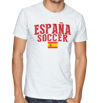 Men's Round Neck Tee T Shirt  Soccer España