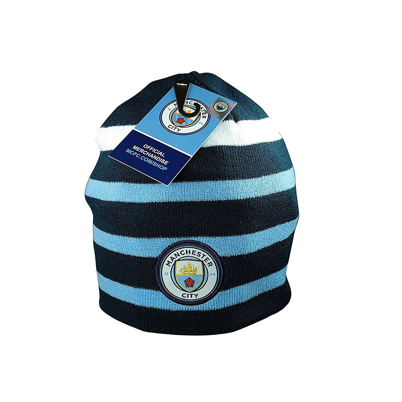 Manchester City Adult's Reversible Beanie