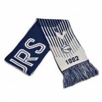 Tottenham Adult's Scarf Reversible Blue White