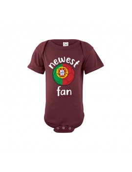 Portugal world cup Baby Soccer Bodysuit