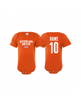 Netherlands  country world cup 2018  Baby Soccer Bodysuit, jersey, t-shirts