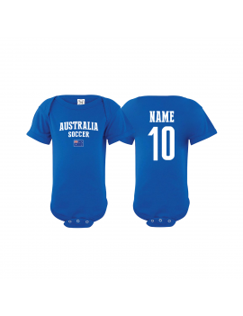 AUSTRALIA Baby Soccer Bodysuit