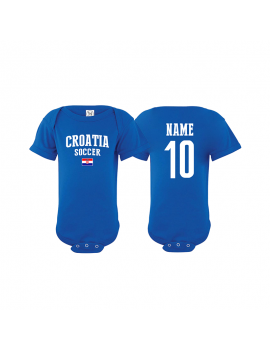Croatia flag world cup 2018 Baby Soccer Bodysuit jersey t-shirts