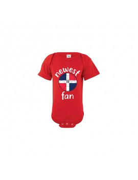 Dominican Republic Newest Fan Baby Soccer Bodysuit