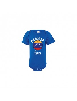 Venezuela Newest Fan Baby Soccer Bodysuit