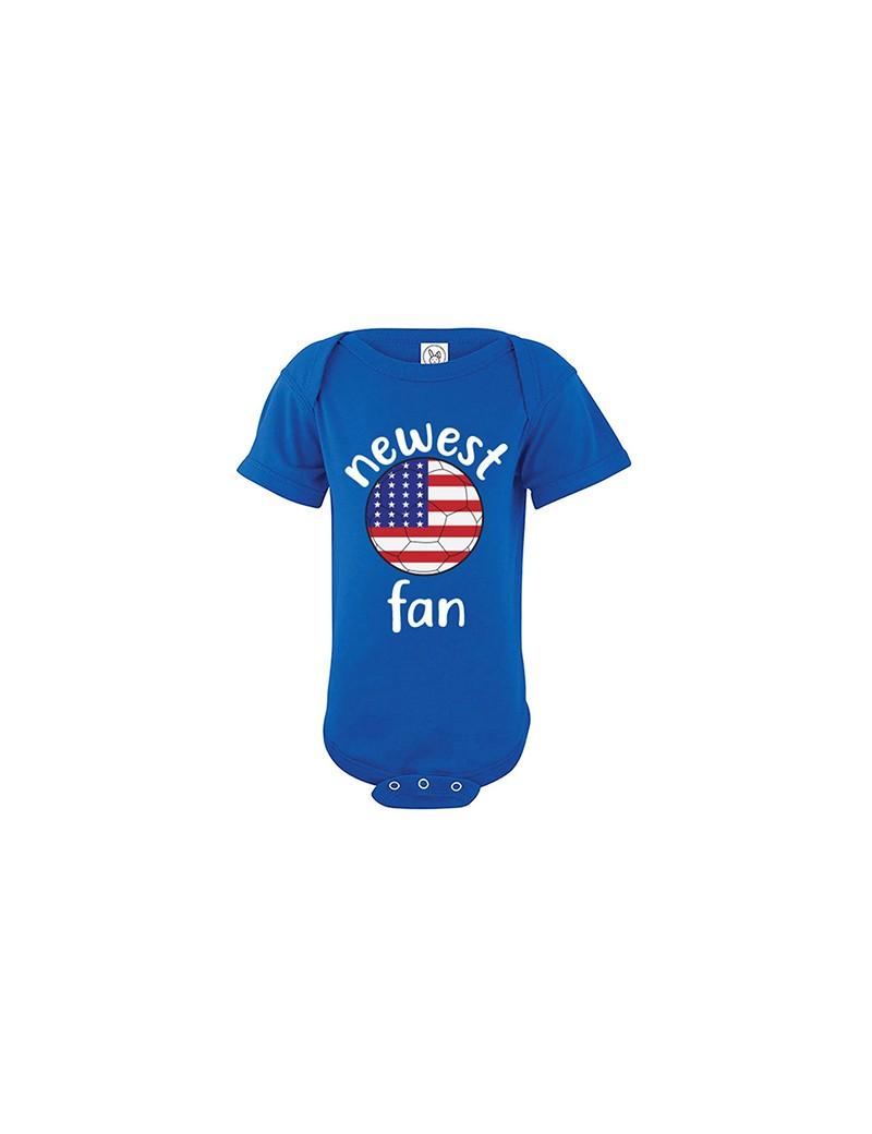USA Newest Fan Baby Soccer Bodysuit