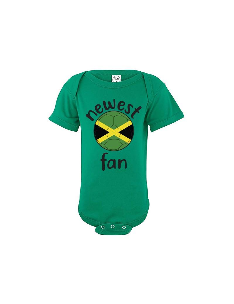 Jamaica Newest Fan Baby Soccer Bodysuit