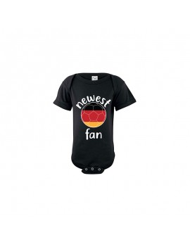 Germany Newest Fan Baby Soccer Bodysuit