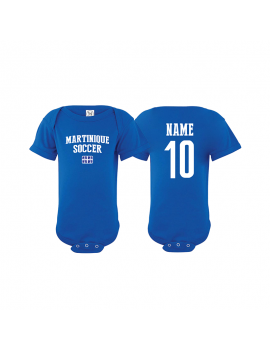 Martinique  world cup Baby Soccer Bodysuit