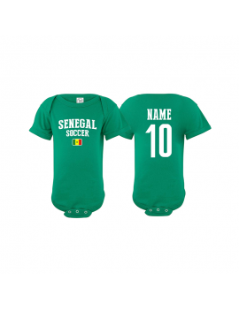 Senegal world cup 2018 Baby Soccer Bodysuit jersey t-shirts