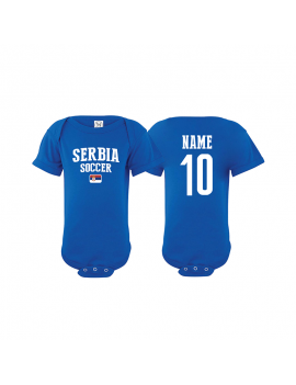 Serbia world cup 2018 Baby Soccer Bodysuit jersey t-shirts