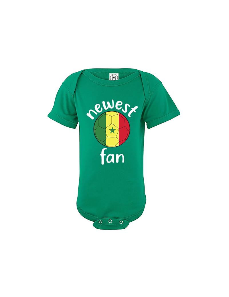 Senegal Newest Fan Baby Soccer Bodysuit