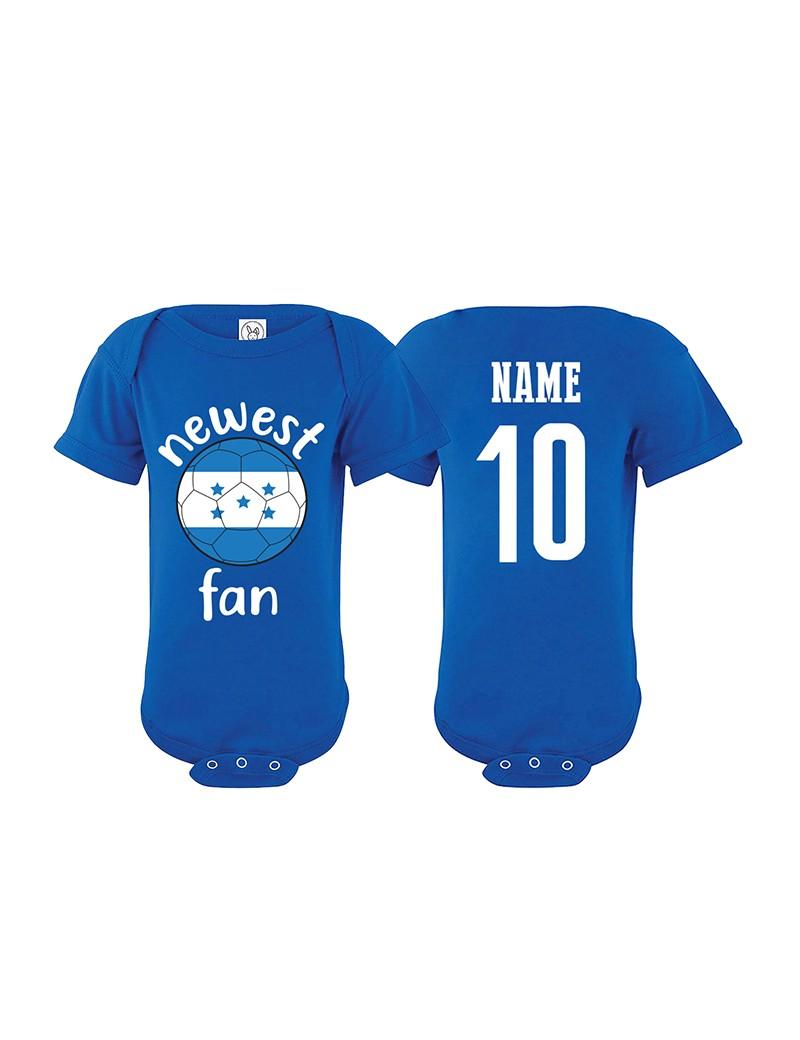Honduras Newest Fan Baby Soccer Bodysuit