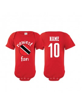 Trinidad & Tobago Newest Fan Baby Soccer Bodysuit