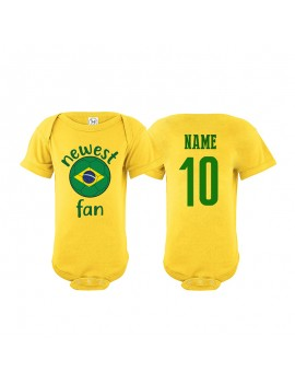 Brazil Newest Fan Baby...