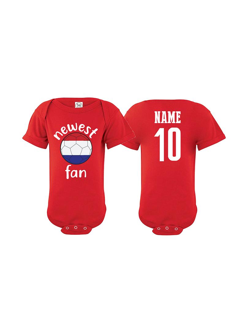 Russia Newest Fan World Cup Baby Soccer Bodysuit