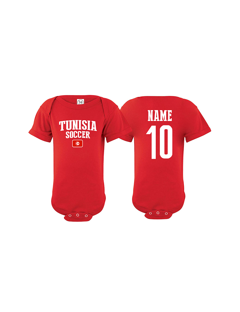 6ae768a3c14 Tunisia 2018 FIFA World Cup Russia Essential Infant bodysuit The ...