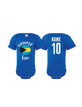 Bahamas Newest Fan Baby Soccer Bodysuit