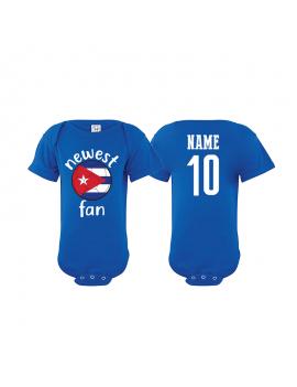 Cuba Newest Fan Baby Soccer Bodysuit