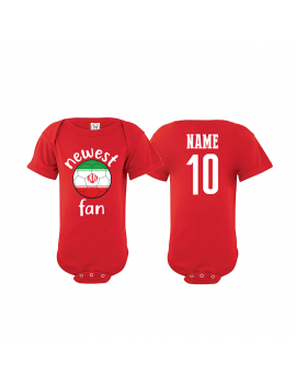 Iran Newest Fan Baby Soccer Bodysuit