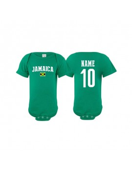 Jamaica Baby Soccer Bodysuit jersey T-shirt