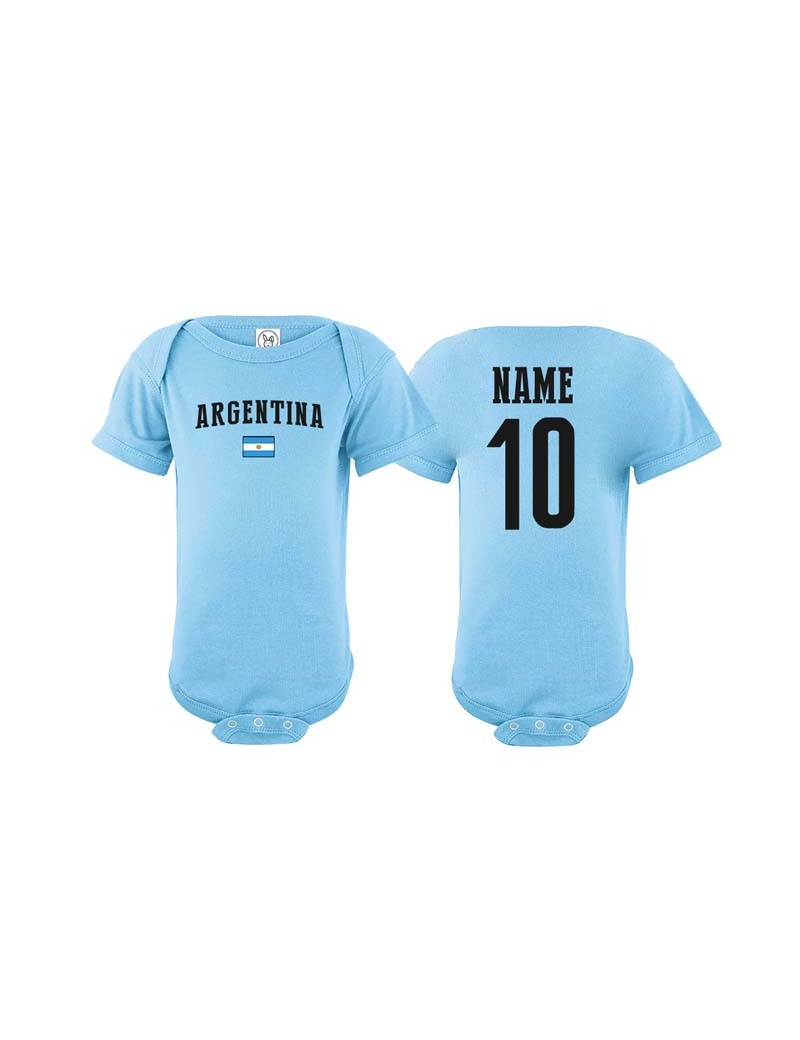 Argentina world cup 2018 Baby Soccer Bodysuit