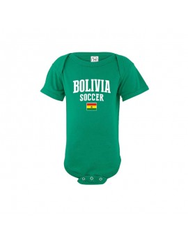 Bolivia world cup Baby Soccer Bodysuit