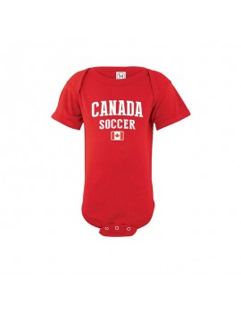 Canada world cup Russia 2018 Baby Soccer Bodysuit jersey T-shirt