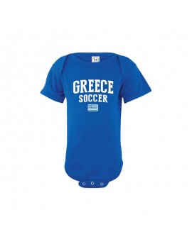 Greece country  Baby Soccer Bodysuit, jersey, t-shirts