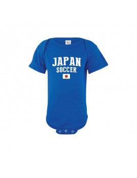 Japan country world cup Baby Soccer Bodysuit