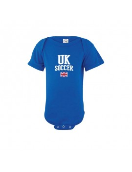 UK country Baby Soccer world cup 2018 Bodysuit, jersey, t-shirts