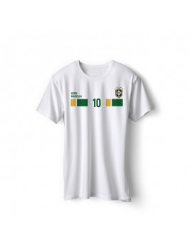 Brazil World Cup Retro Men's Soccer T-Shirt