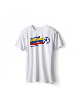 Colombia World Cup Retro Men's Soccer T-Shirt