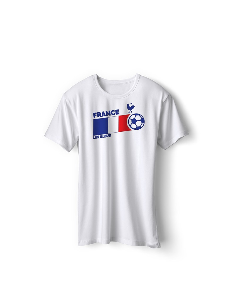 a61f7fe1a France World Cup Retro Men's Soccer T-Shirt| The Sports Ego
