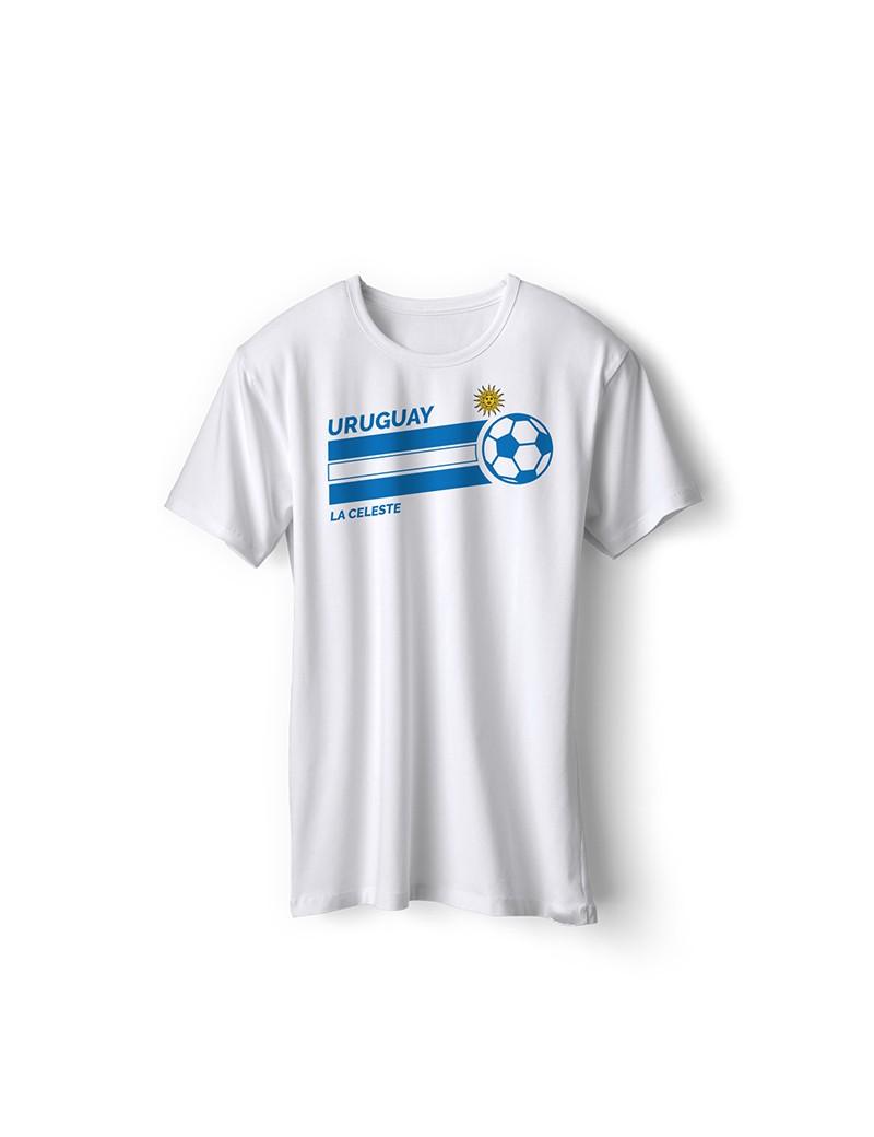 Uruguay World Cup Retro Men's Soccer T-Shirt