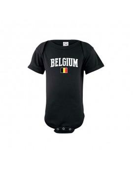 Belgium world cup Baby Soccer Bodysuit jersey t-shirt