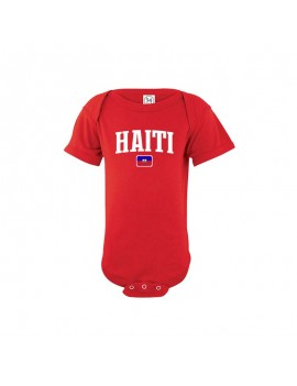 Haiti world cup Russia 2018 Baby Soccer Bodysuit jersey T-shirt