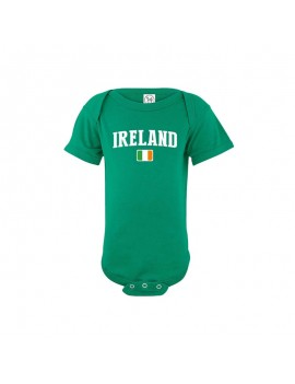 Ireland world cup Russia 2018 Baby Soccer Bodysuit jersey T-shirt