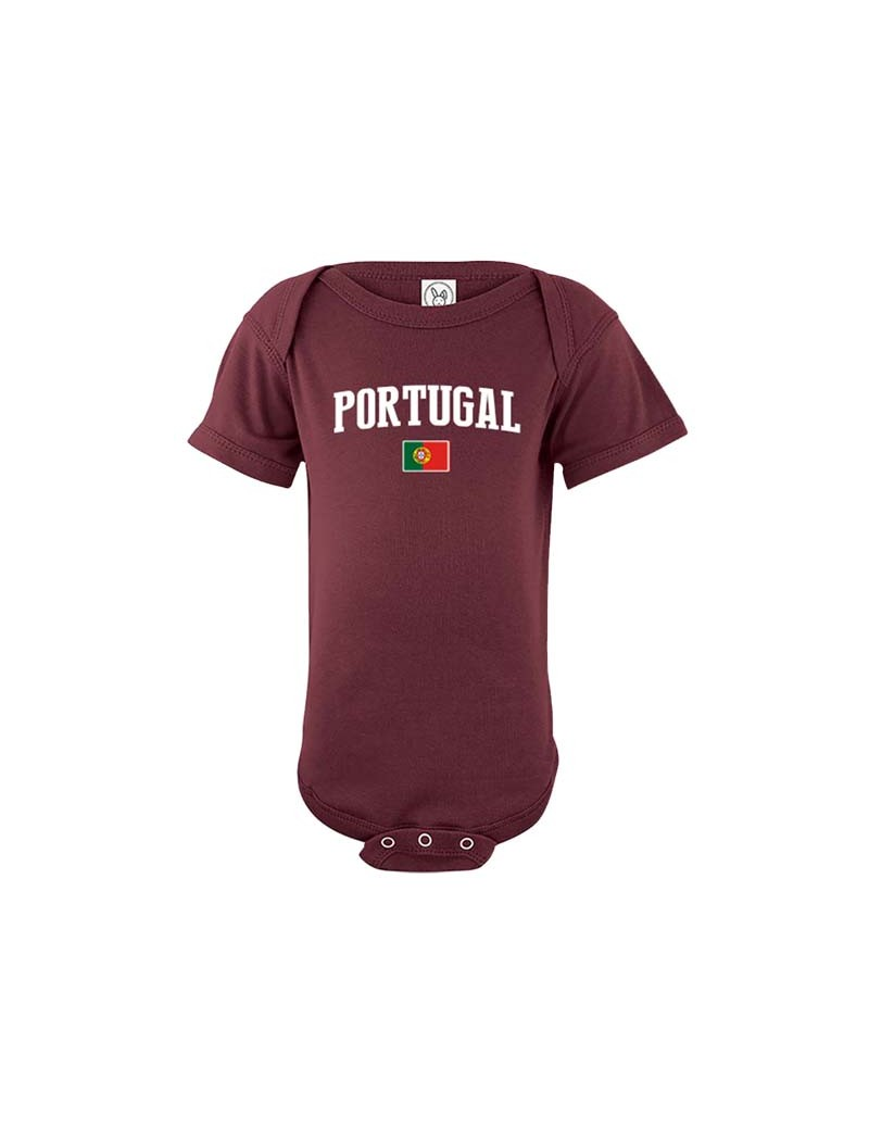 Portugal country world cup 2018  Baby Soccer Bodysuit, jersey, t-shirts