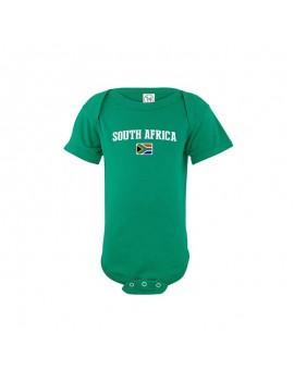 South Africa world cup 2018 Baby Soccer Bodysuit jersey t-shirts