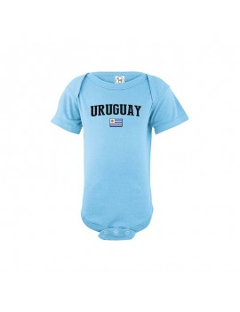 Uruguay country Baby Soccer world cup 2018 Bodysuit, jersey, t-shirts