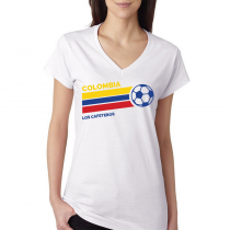 Colombia Women's V Neck Tee...